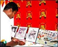 Death anniversary of 22 LTTE fighters, Gopalapuram.