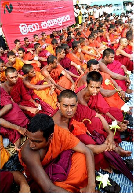 Buddhist Monks' protest