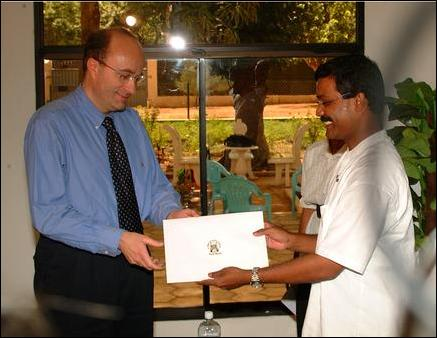 Mr. S. P. Thamilchelvan submits IA propasal to Norwegian ambassador