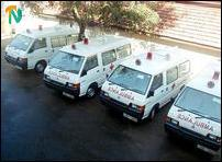 Ambulances from NECORD