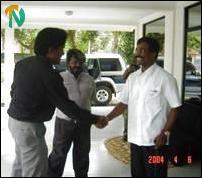 Western Province Tamil leader meets Thamilchelvan