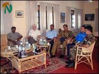 Elilan meets Security forces commanders