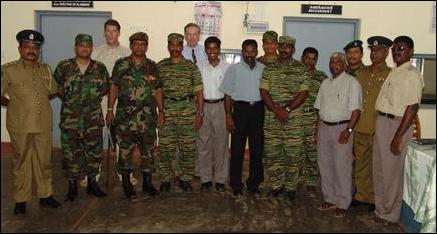 Meeting between the LTTE and the SLA