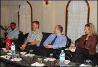 Norway team in meeting with the LTTE's Political Head