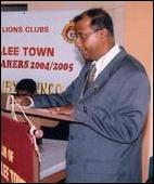 Lions Club appoints new President