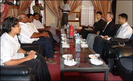 Japanese Ambassador meets with the LTTE