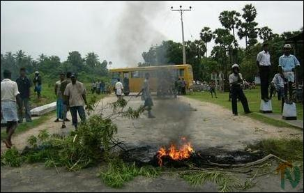 Tension in Kodikamam