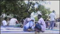Road protests in Mannar