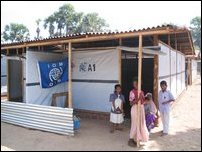 IOM shelters, Muttur.