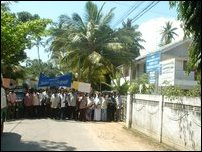 Protests in Jaffna continue