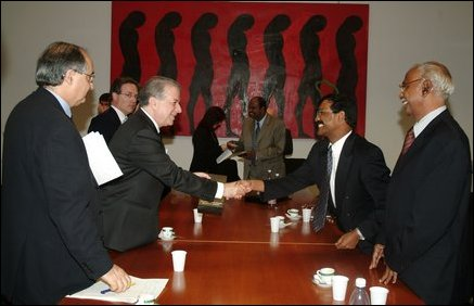 LTTE delegation meets with Italian Foreign Ministry officials in Rome