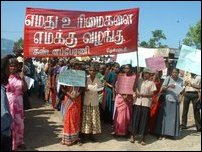 Protests in Thenmaradchi