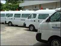 NECORD gifts ambulances