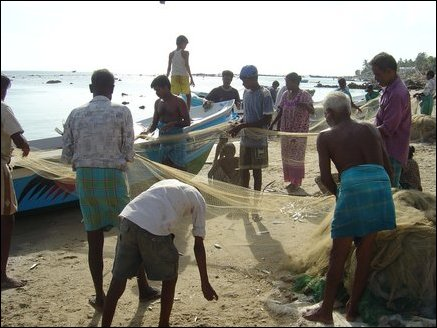 HUMEDICA, an organization for relief assistance, is providing boats to the fishermen. However many still need fishing nets and other fishing gear to restart their trade.