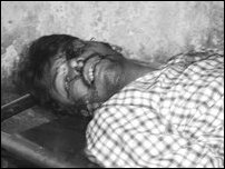 Mr. J. Shantharooban, killed by the Sri Lankan Army