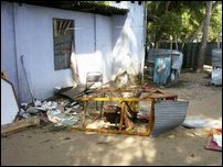 Kaluwanchikudy LTTE Political office attacked