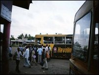 Private transport operators strike