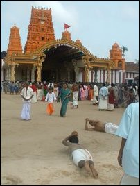 The Annual Festival of Nallur Kandaswamy (Lord Murugan) Temple begins