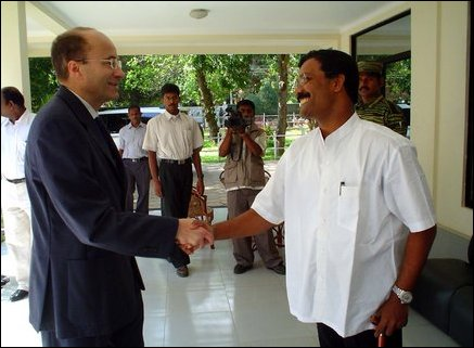 Norwegian Ambassodor meets LTTE Political Head