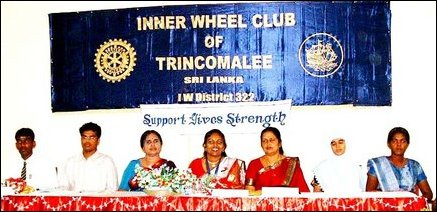 Inner Wheel Club, Trinco.