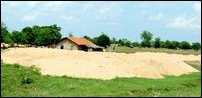 Sea sand mining project