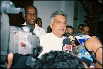 Ranil on voting day