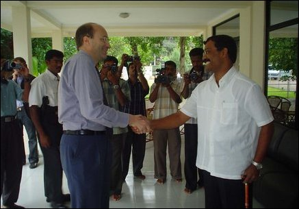 Norwegian Ambassador meets LTTE Political Head