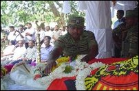 Joseph Para tribute event in Kilinochchi
