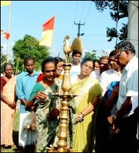 Remembrance of five Tamil students