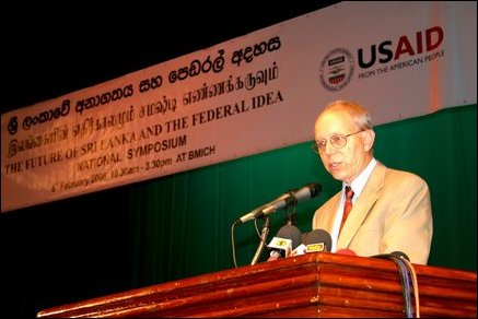 US Ambassador addresses the Symposium on Federalism
