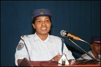 Ms. Immaculate, from Research Department of Thamileelam Police