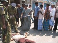 Bus conductor killing in Jaffna