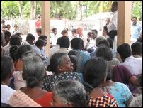 Jaffna GA, NGOs unable guarantee saftety to Allaipiddy refugees.