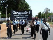 May Day in Kilinochchi