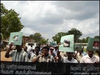 Kilinochchi march