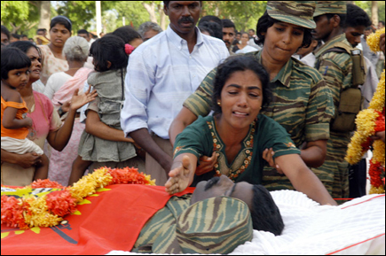 Col. Ramanan's remains buried with military honours in Thandiyady
