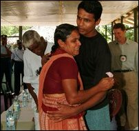 Parents visited Sinhala soldiers