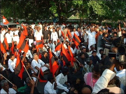 demonstration in Tamilnadu