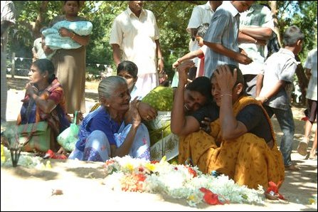 Tsunami victims remembered in Vanni