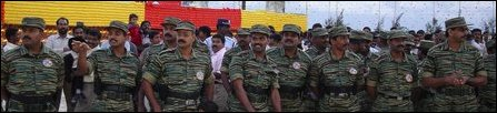 Col. Charles among a section of senior LTTE commanders