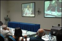 CoI video conference (Courtesy: Daily Mirror)