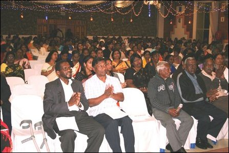 Section of audience at South Africa Black July
