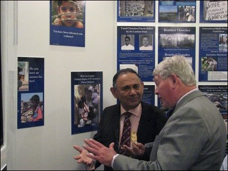Eezham exhibition impresses UK parliamentarians