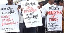 Colombo demonstration
