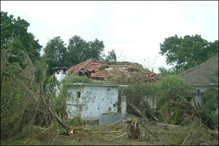 SLAF bombardment on Holy Cross Convent in Paranthan