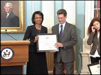 Freedom Award Presentations, Condoleeza Rice, Michael DeTar