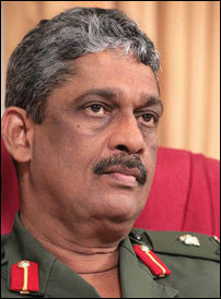 Sarath Fonseka on civilian casualties