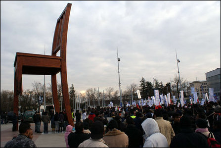 Tamils demonstrate in Geneva
