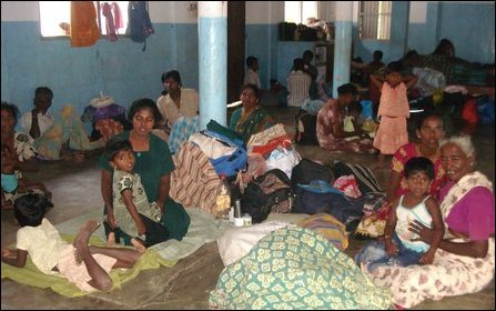 IDPs in SLA detention camps
