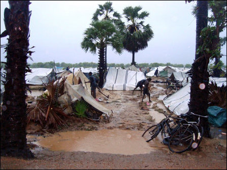 IDPs struggling to cope with floods